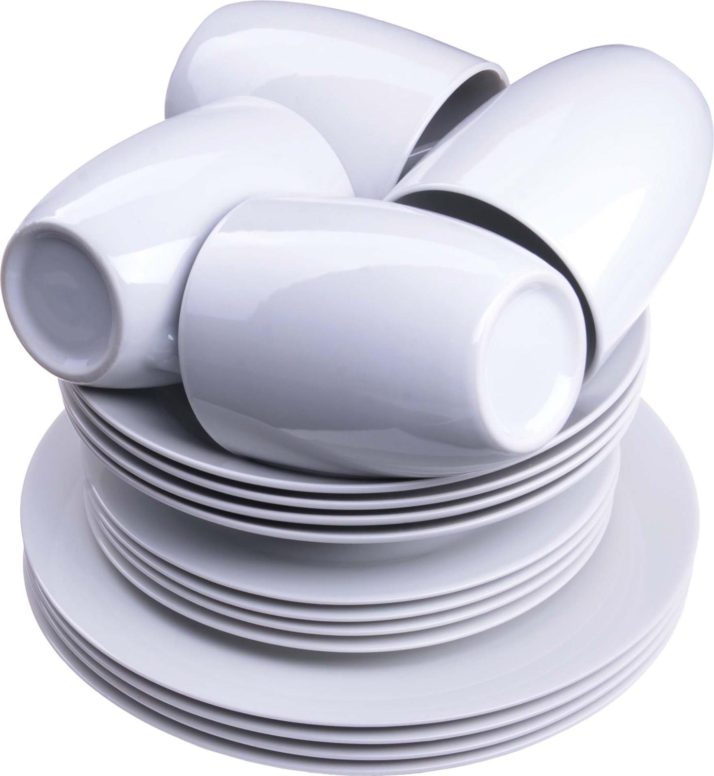 Сервиз обеденный Loraine, цвет: белый, 16 предметов. у4107у4107Набор посуды Loraine выполнен из фарфора. Данный набор предназначен для сервировки обеденного стола на 4 персоны. Форма изделий круглая. Классический дизайн сочетается в нем с максимальной функциональностью. Такой набор послужит отличным подарком к любому празднику, а также добавит элегантности и уюта любому праздничному столу! Посуда обладает гладкой непористой поверхностью, не впитывает запахи, устойчива к перепадам температуры и легко моется. Подходит для мытья в посудомоечной машине.