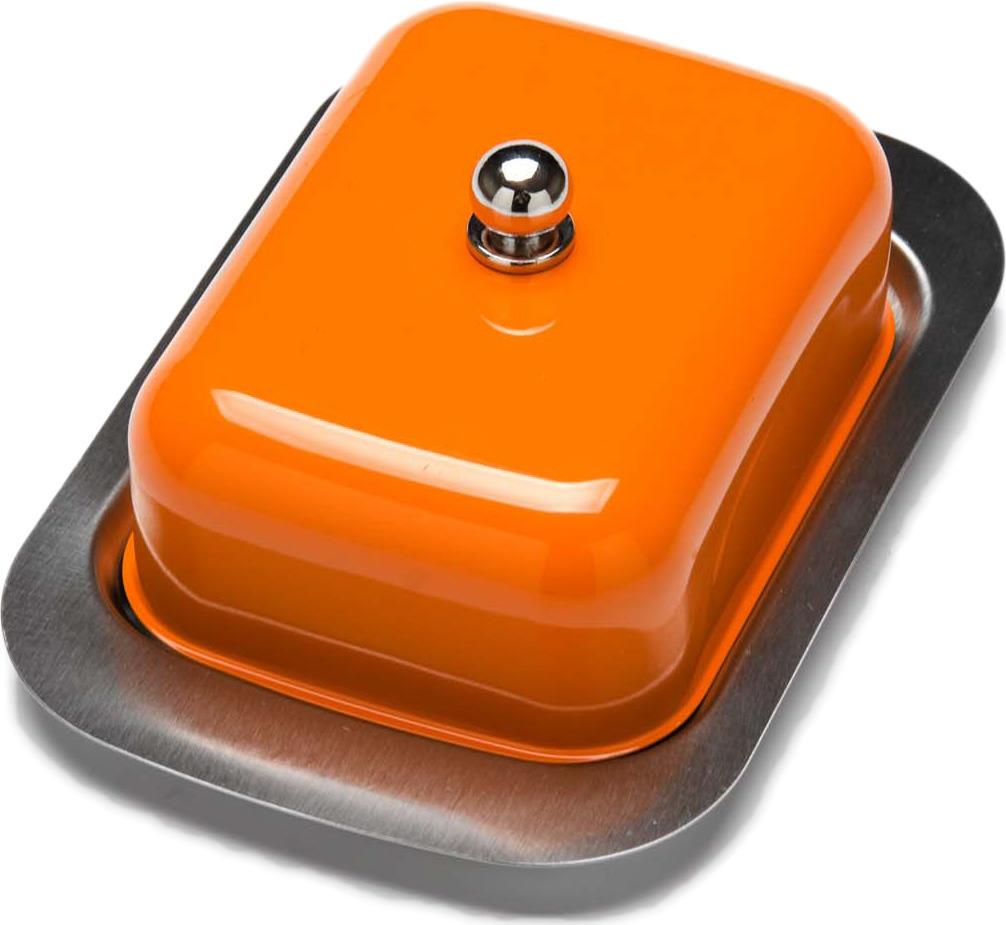 Масленка Mayer & Boch, цвет: оранжевый