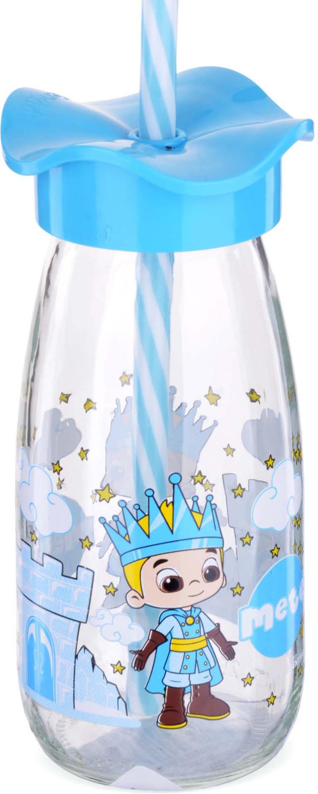 Бутылка для смузи Mayer & Boch, цвет: голубой, 0,25 л
