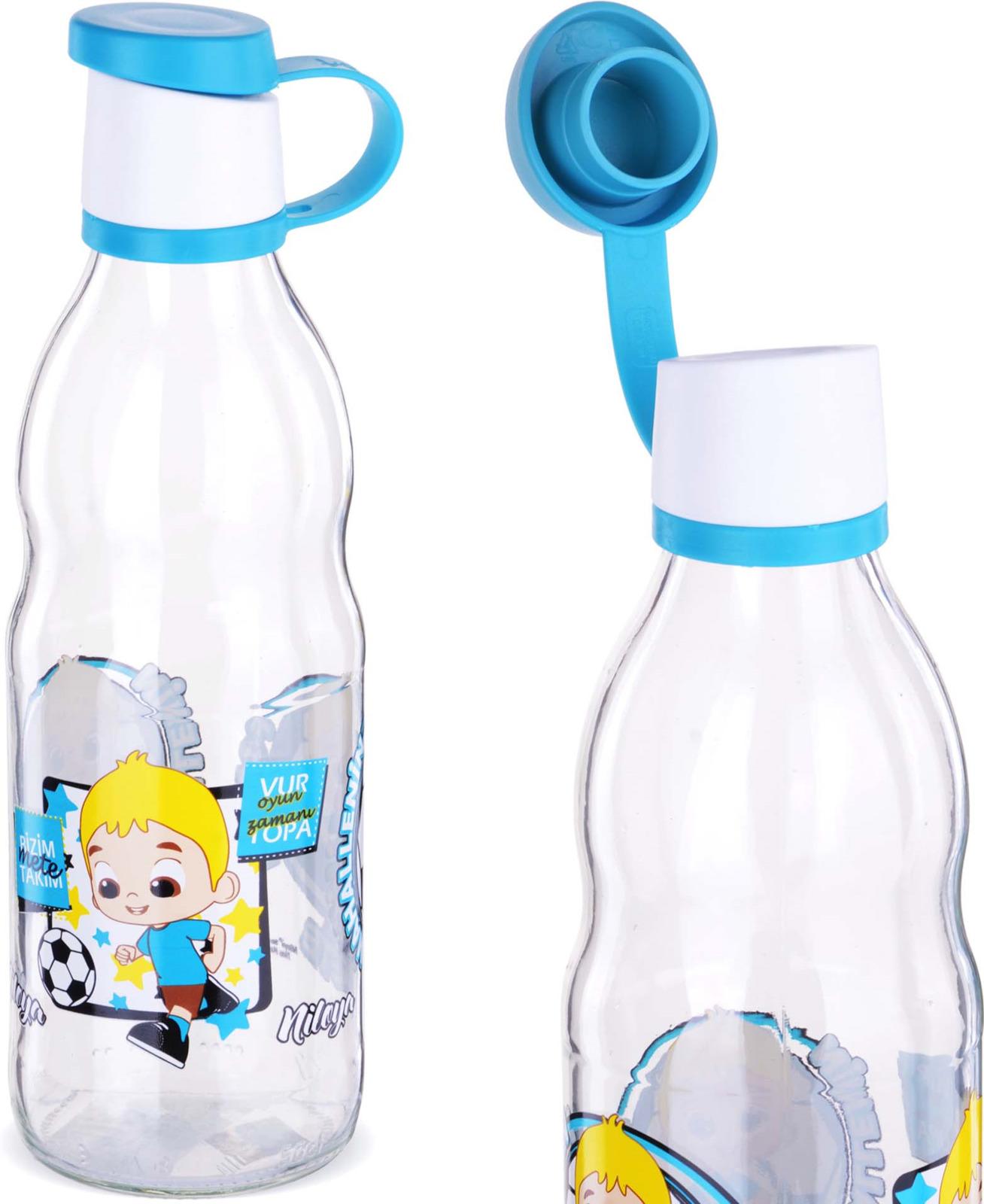 Бутылка Mayer & Boch, цвет: голубой, 0,5 л. у3890