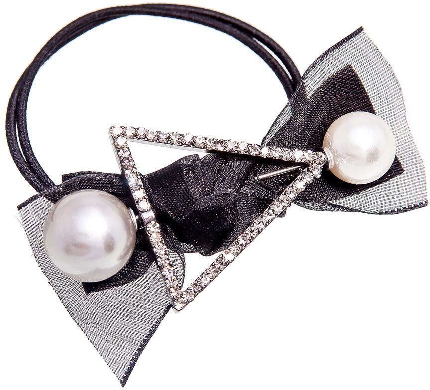 цена Резинка для волос Aiyony Macie, цвет: черный, серый, белый. H807116 онлайн в 2017 году