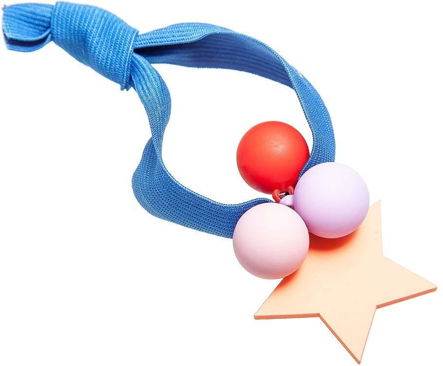Резинка для волос Aiyony Macie, цвет: синий, оранжевый, красный. H808136 гамак для ног эврика цвет оранжевый 62 х 17 х 2 см