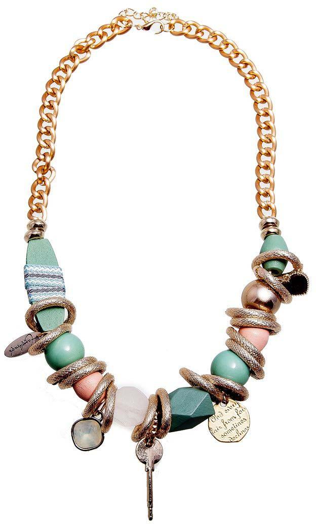 Колье/ожерелье бижутерное Aiyony Macie украшения 50 х годов