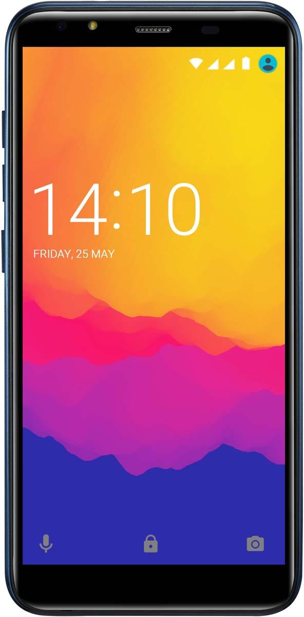Смартфон Prestigio Muze E5 LTE 2/16GB, синий смартфон prestigio psp5545 muze e5 lte black