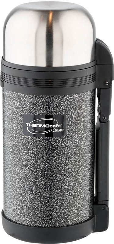 Термос Thermocafe By Thermos HAMMP-1200-HT, цвет: темно-серый, 1,2 л