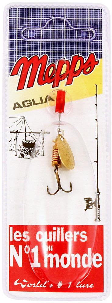 Блесна MEPPS Aglia OR, вращающаяся, №00, цвет: золотой, 1,5 г цены