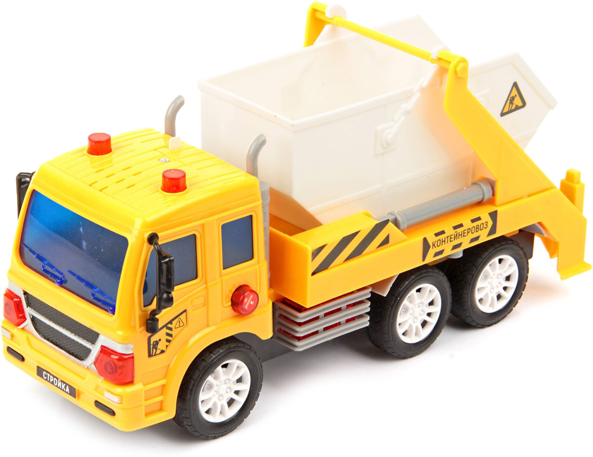 Машинка Drift Портальный погрузчик строительный, масштаб 1:18 машина drift спецтехника бетономешалка 48228