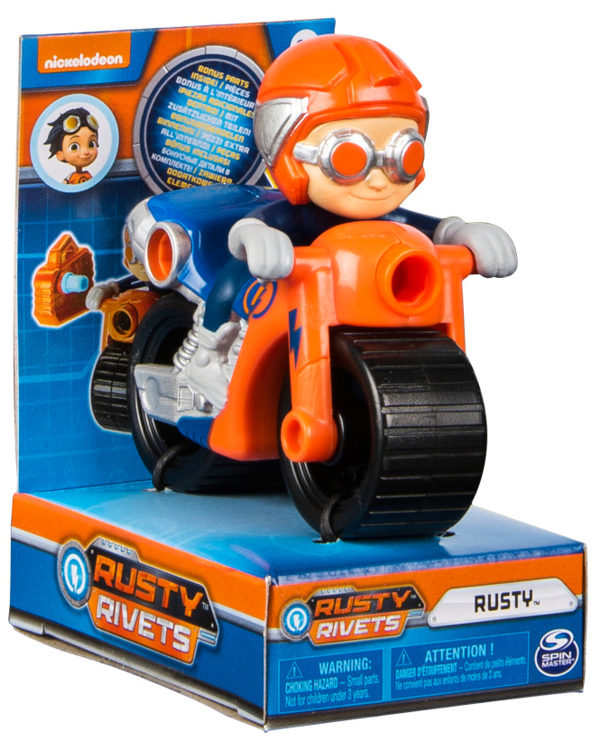 Игровой набор Rusty Rivets Машинка героя rusty rivets model 1шт