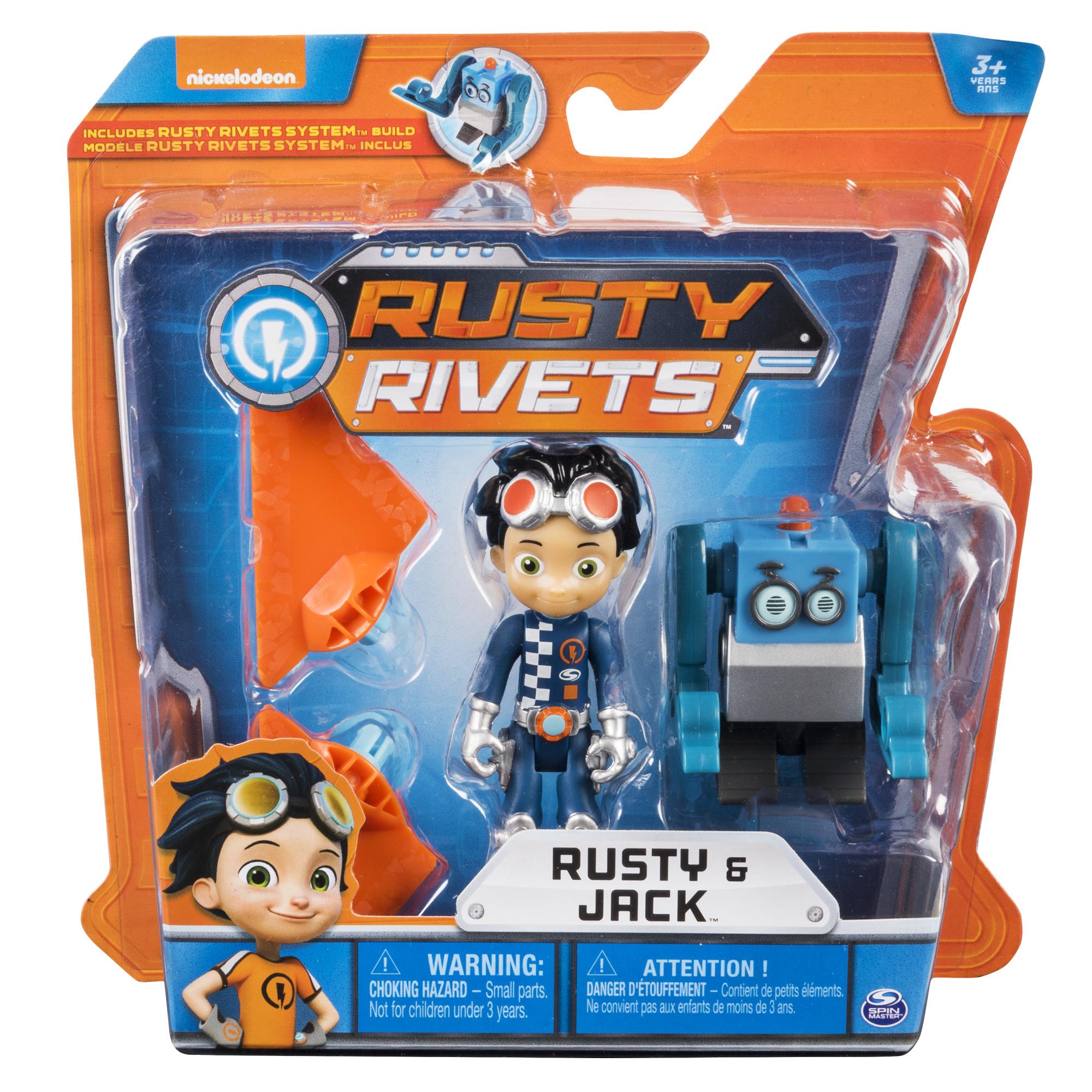 Строительный набор Rusty Rivets, маленький, с фигуркой героя