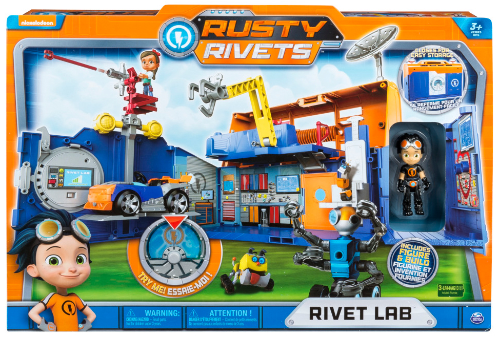 Игровой набор Rusty Rivets Строительная лаборатория Расти игровой набор rusty rivets супер инструмент и очки расти