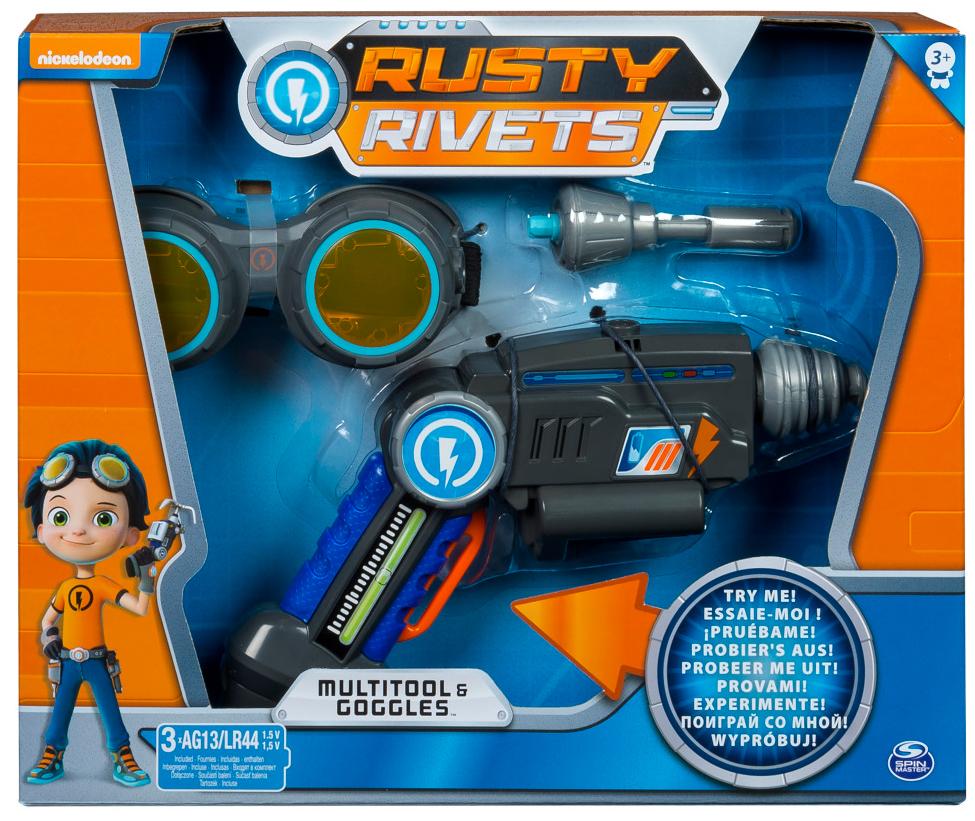 Игровой набор Rusty Rivets Супер инструмент и очки Расти игровой набор rusty rivets супер инструмент и очки расти
