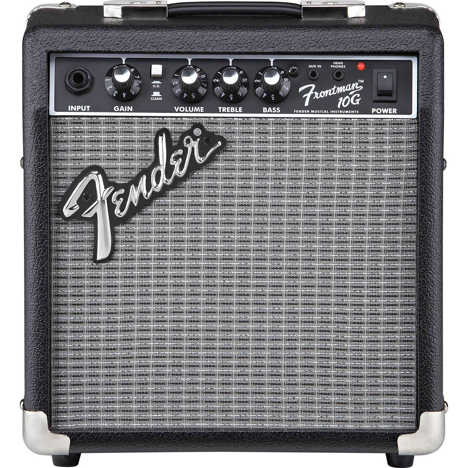 Гитарный транзисторный комбоусилитель Fender Frontman, 10Вт