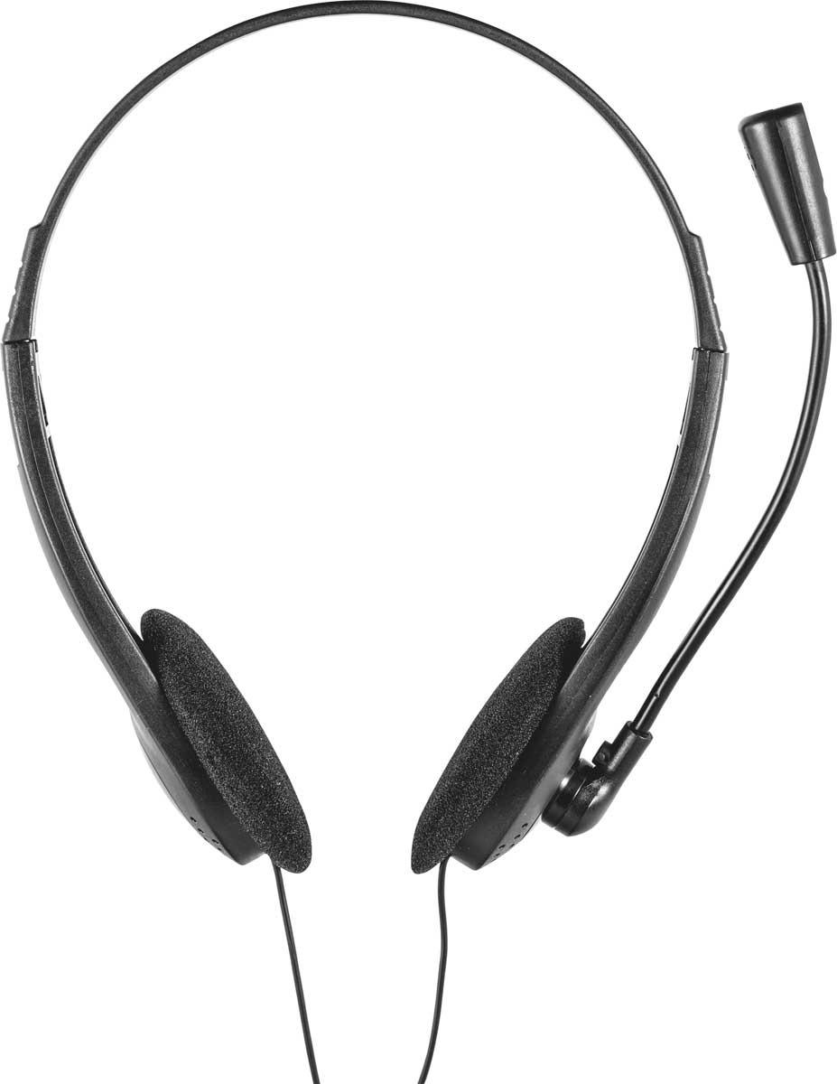 лучшая цена Компьютерная гарнитура Trust Ziva, цвет: черный