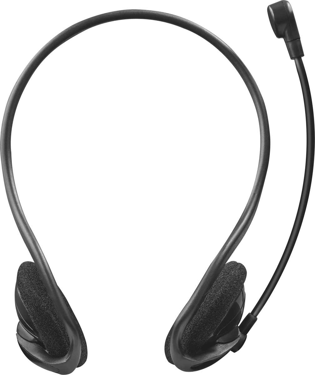 Компьютерная гарнитура Trust Cinto, цвет: черный аксессуар переходник на микрофон drift ghost 4k 55 008 00