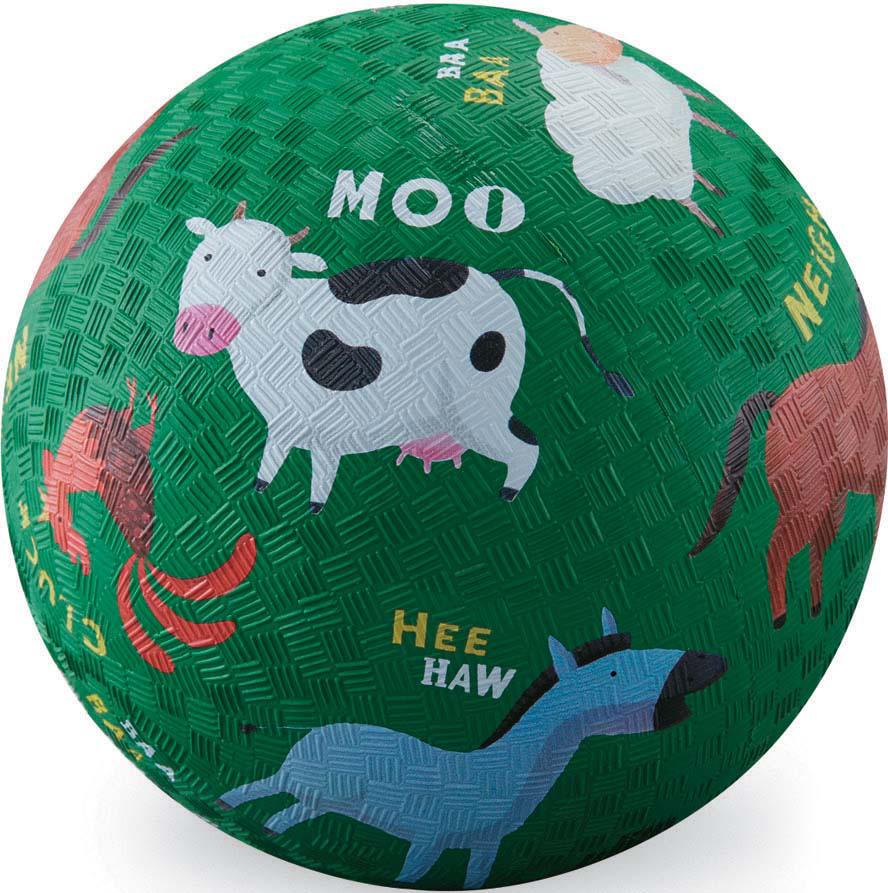 "Мяч детский Crocodile Creek ""Ферма"", 13 см"