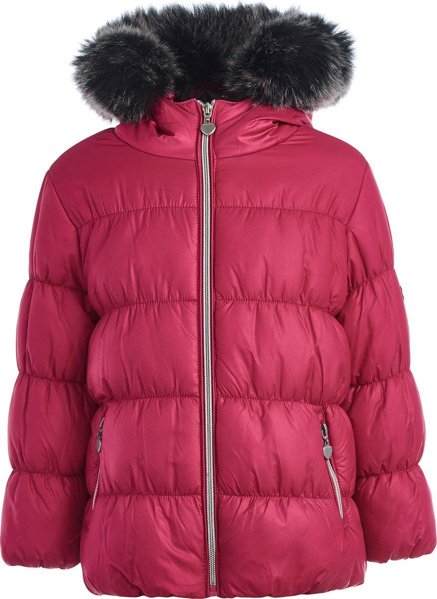 Куртка Button Blue купить красивую зимнюю куртку женскую в москве