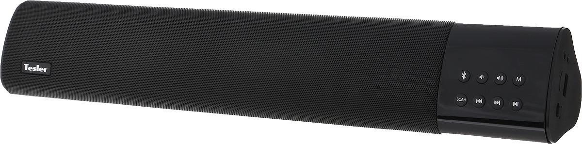 Фото - Беспроводная колонка Tesler PSS-777, Black беспроводная колонка tesler pss 444 green