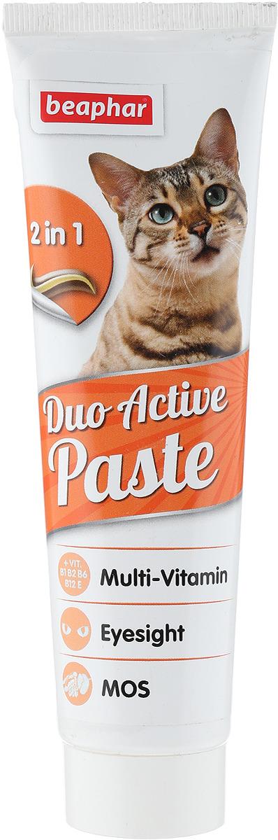 купить Паста мультивитаминная для кошек Beaphar Duo Active Pasta, 100 г по цене 460 рублей