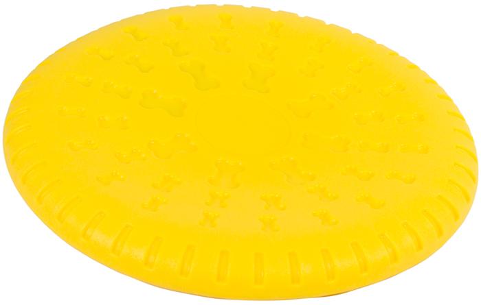 Игрушка для собак Каскад Летающая тарелка, плавающая, диаметр 23 см игрушка летающая тарелка с датчиком движения