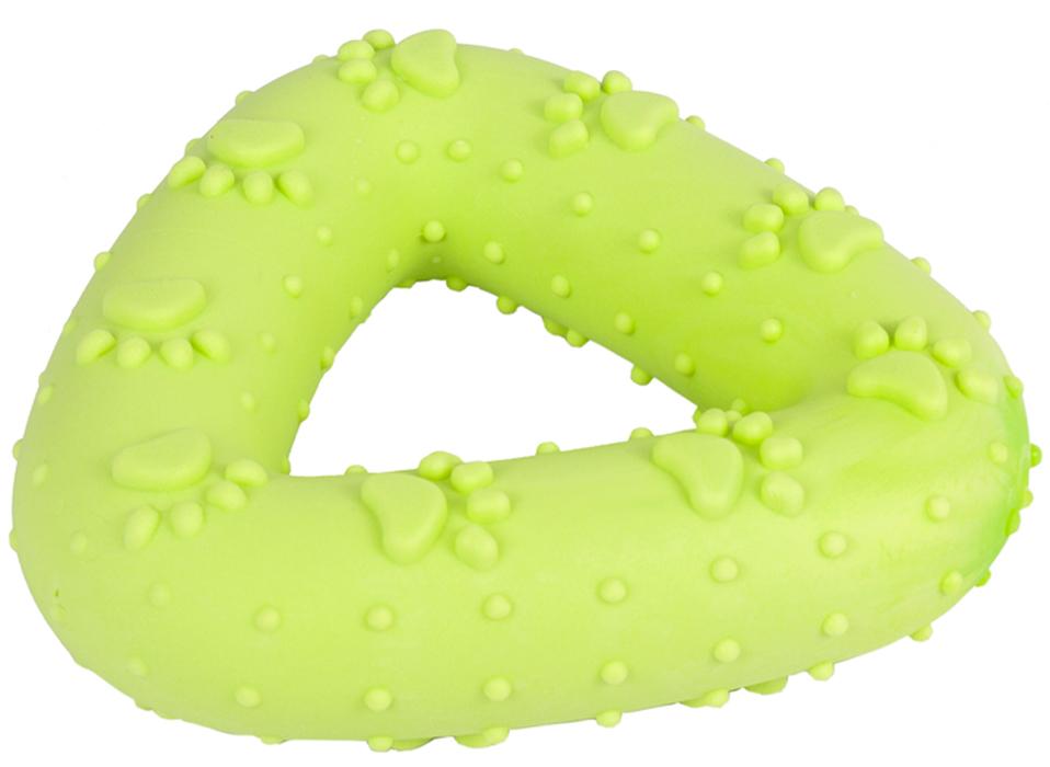 Игрушка для собак Каскад Треугольник, плавающая, 11 см фильтр sea star каскад hx 004 1101293