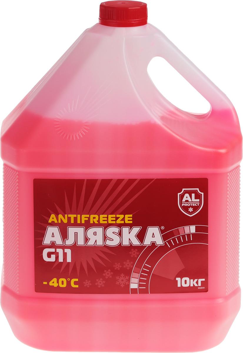 """Антифриз Аляска """"Red"""", -40°С, цвет: красный, 10 кг"""