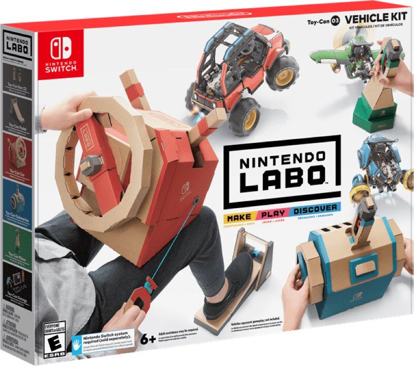 Набор Nintendo Labo: Транспорт new nintendo 2ds xl animal crossing edition gray портативная игровая приставка