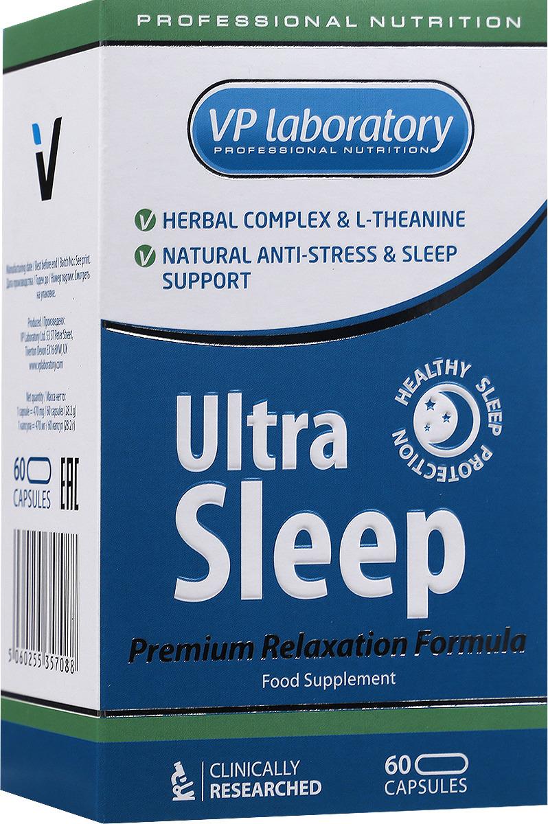 Биологически активная добавка к пище VPLAB Ultra Sleep, 60 капсул