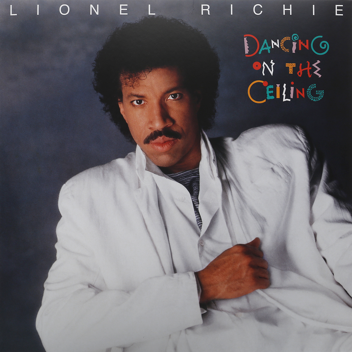 Лайонел Ричи Lionel Richie. Dancing On The Ceiling (LP)