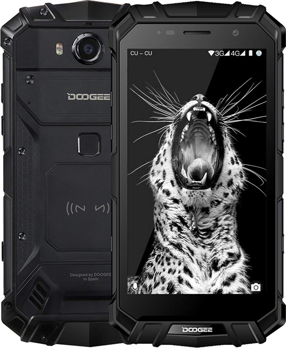 Смартфон Doogee S60 6/64GB, черный цена в Москве и Питере