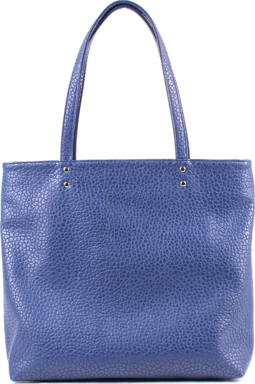 Шоппер женский Медведково, цвет: темно-синий. 18с0389-к14 сумка шоппер женская медведково цвет темно синий 16с3492 к14