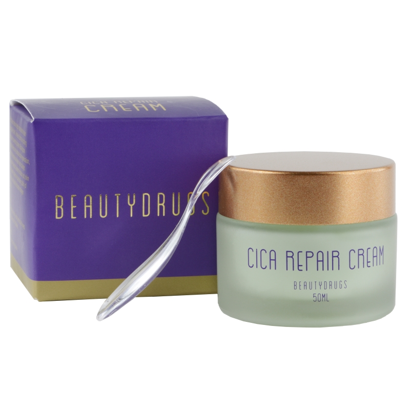 Крем для лица Beautydrugs Cica Сare Сream, увлажняющий, 50 мл topicrem cica repair