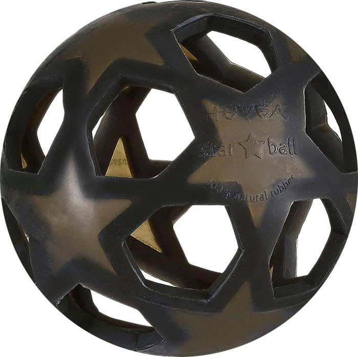 Прорезыватель Hevea Мяч, цвет: черный ghftty природный черный 6t