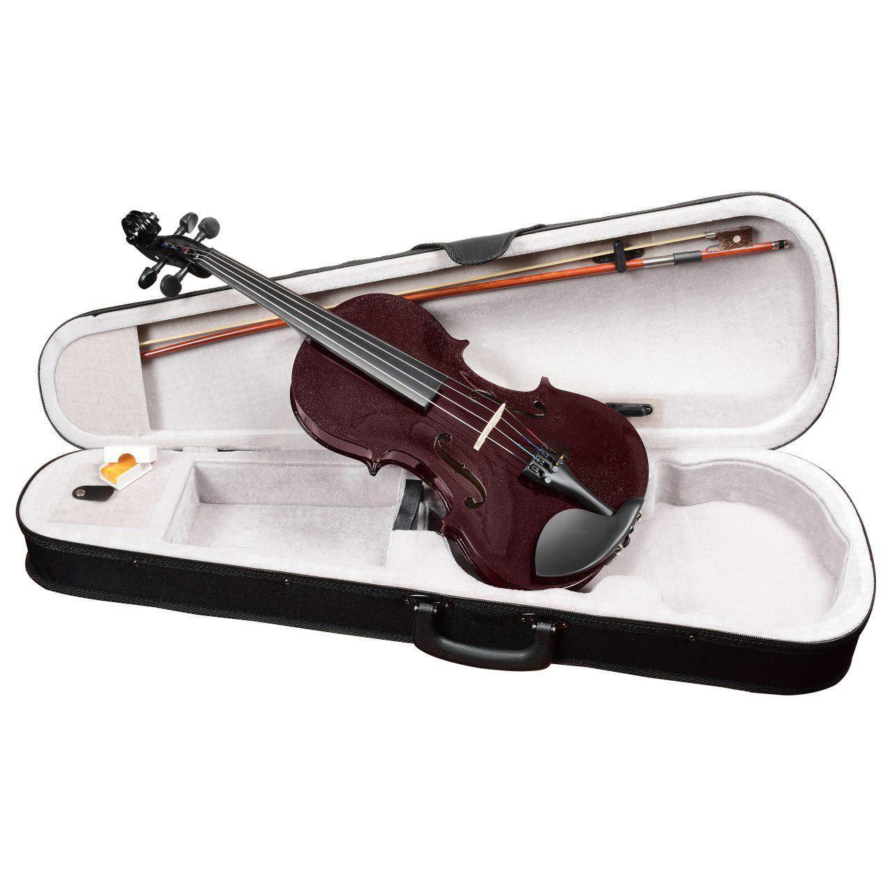 ANTONIO LAVAZZA VL-20 DRW 1/4 - Скрипка размер 1/4, цвет - ВИШНЁВЫЙ металлик (КОМПЛЕКТ - кейс + смычок + канифоль)