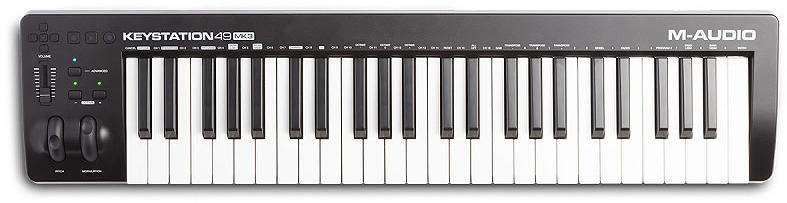MIDI-клавиатура M-Audio Keystation 49 MK3 цена
