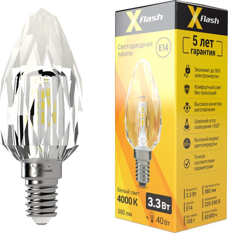 цена на Лампа светодиодная X-Flash XF-E14-CC-3.3W-4000K-230V