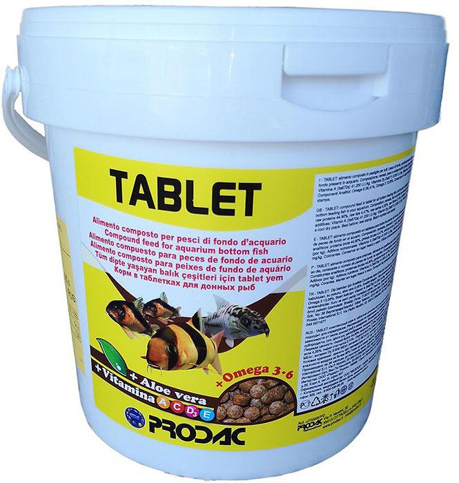 Корм сухой Prodac Tablet, для аквариумных пресноводных рыб, в таблетках, 2 кг диабекон в таблетках diabecon himalaya 0 05 кг 60 шт