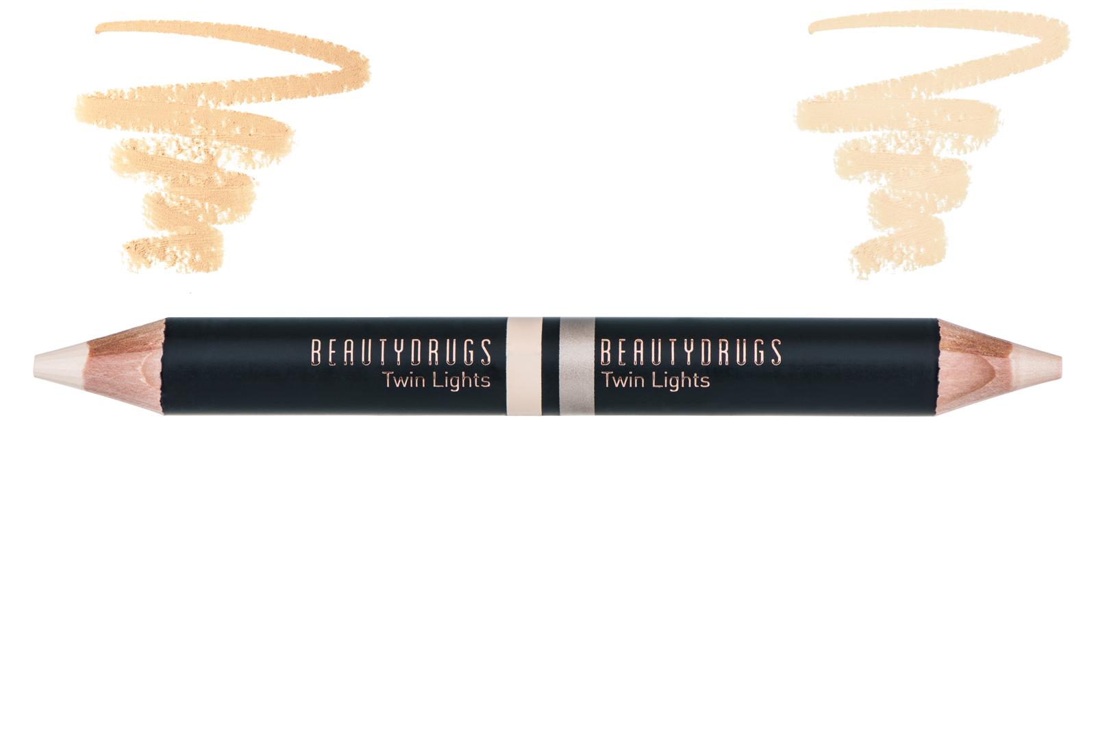 Хайлайтер BEAUTYDRUGS Двойной карандаш-хайлайтер Twin Lights оттенок 01, 5 карандаш хайлайтер