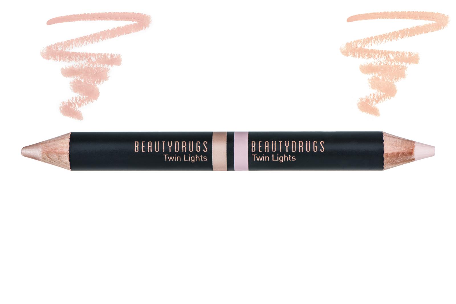 Хайлайтер BEAUTYDRUGS Двойной карандаш-хайлайтер Twin Lights оттенок 02, 5 карандаш хайлайтер