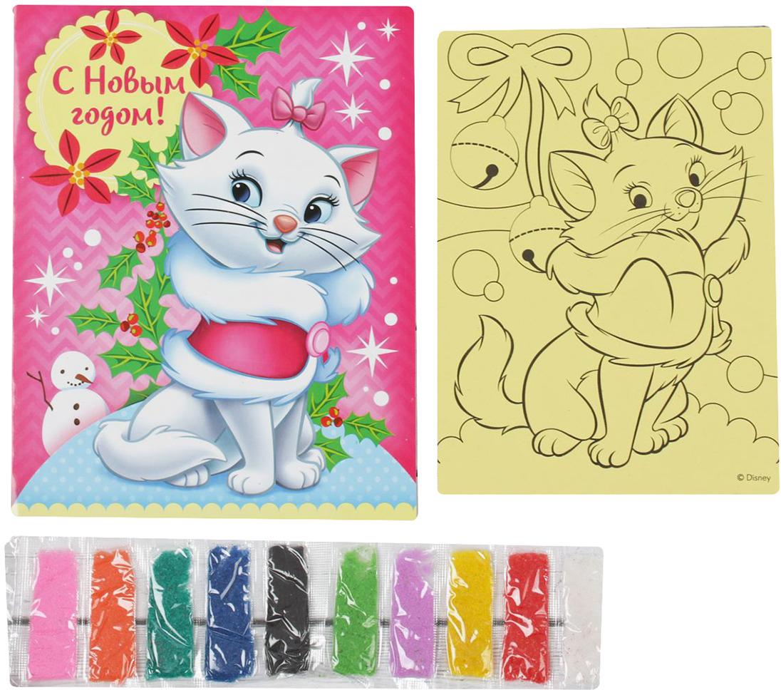 """Фреска-открытка Disney """"Коты аристократы. С Новым годом!"""""""