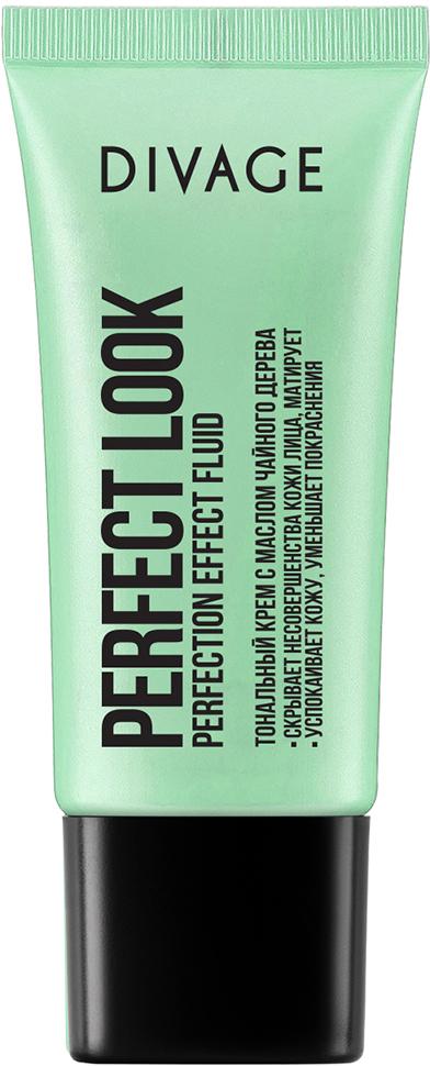 Тональный крем Divage Foundation Perfect Look, тон №1 divage тональный крем foundation luminous тон 01 25 мл