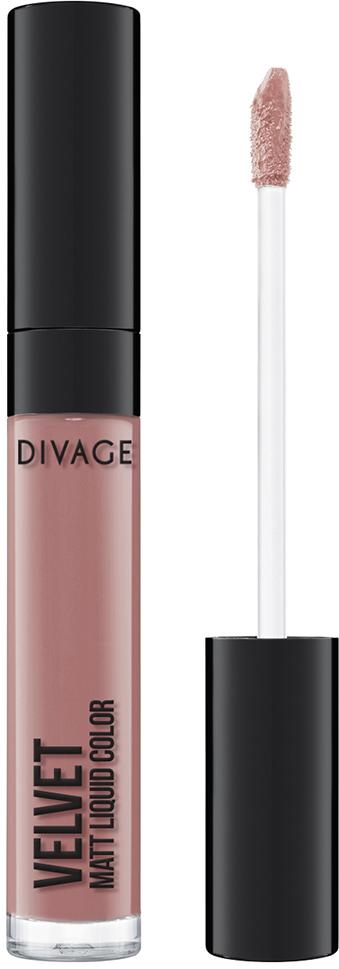 Помада для губ Divage жидкая, матовая Liquid Matt Lipstick Velve, тон №11 все цены