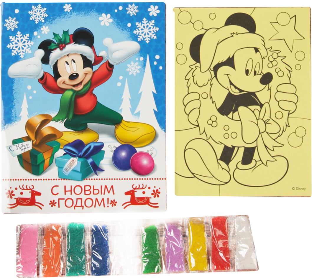 """Фреска-открытка Disney """"Микки Маус. С Новом годом!"""""""