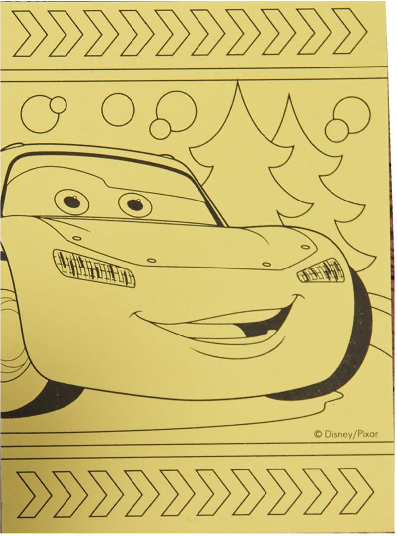 Фреска-открытка Disney