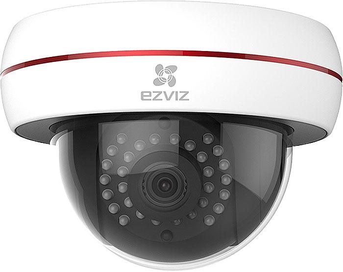 Фото - IP-камера Ezviz C4S, 2Мп, наружная, купольная, Wi-Fi, ИК-подсветка до 30м видео