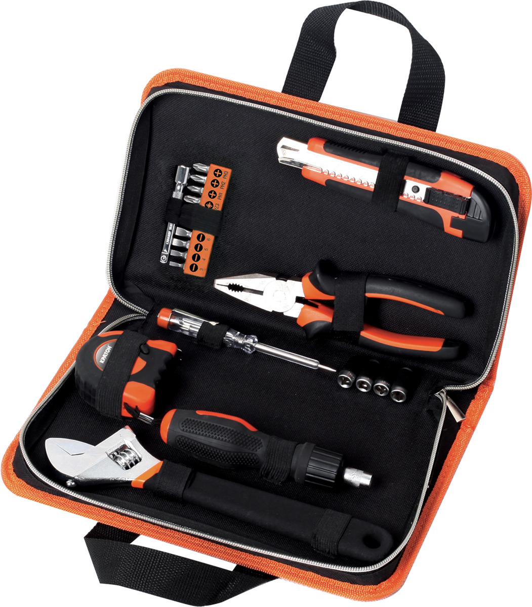 Набор инструментов домашнего мастера Кратон HMS-03/20 набор инструментов archimedes набор домашнего мастера 113 шт