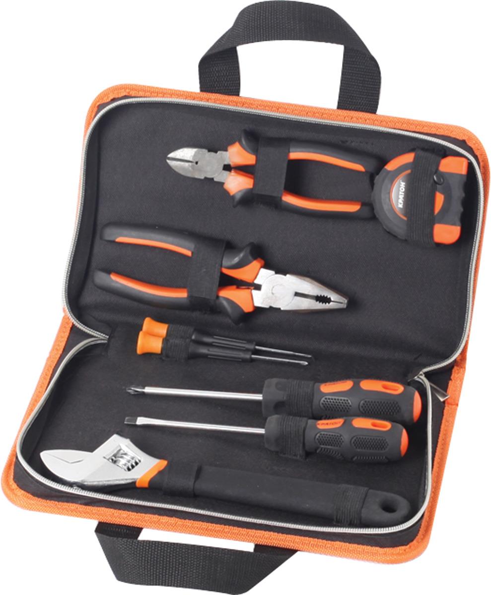 Набор инструментов домашнего мастера Кратон HMS-05/08 набор инструментов archimedes набор домашнего мастера 113 шт
