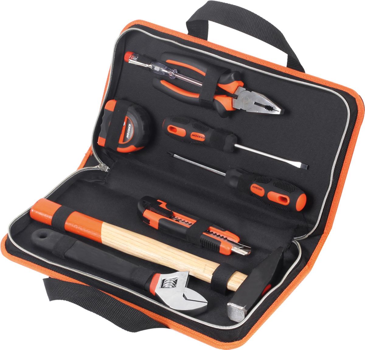 Набор слесарного инструмента Кратон ST-01/08 набор инструмента partner pa 4099