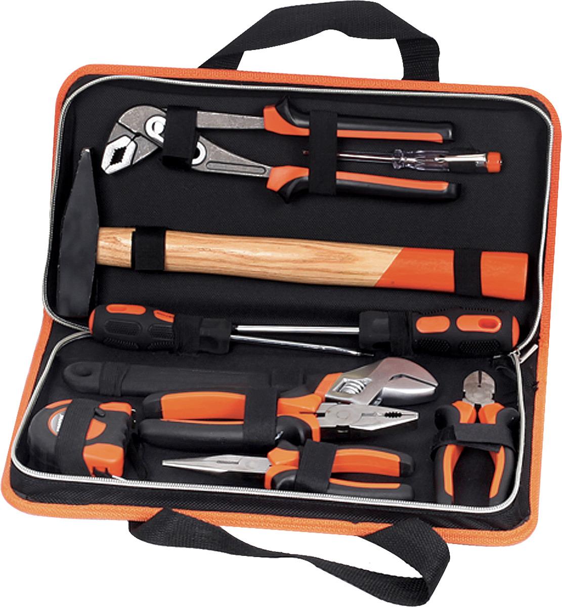 Набор слесарного инструмента Кратон ST-06/10 набор инструмента partner pa 509lb