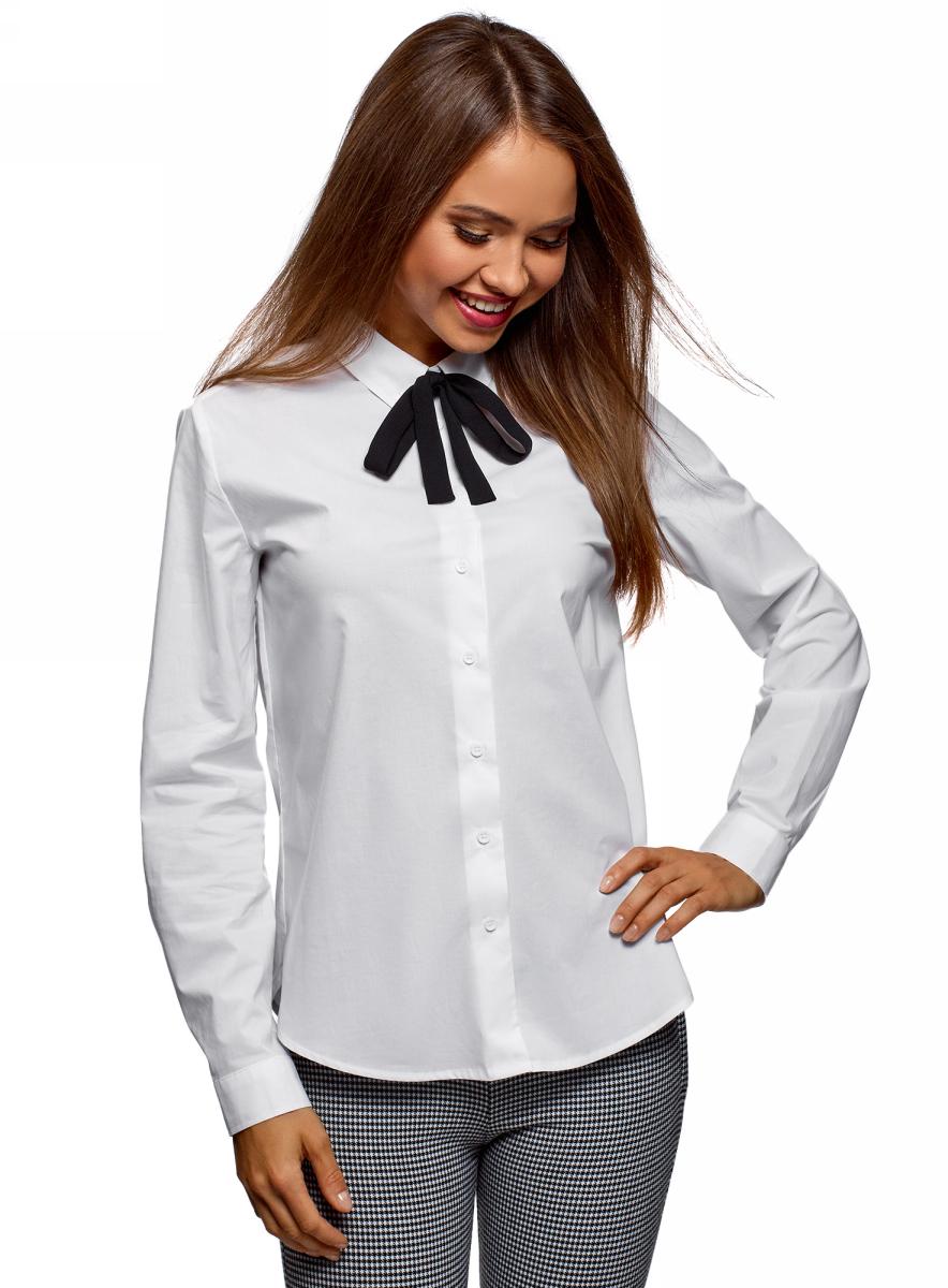 Рубашка oodji bonpoint хлопковая рубашка motus