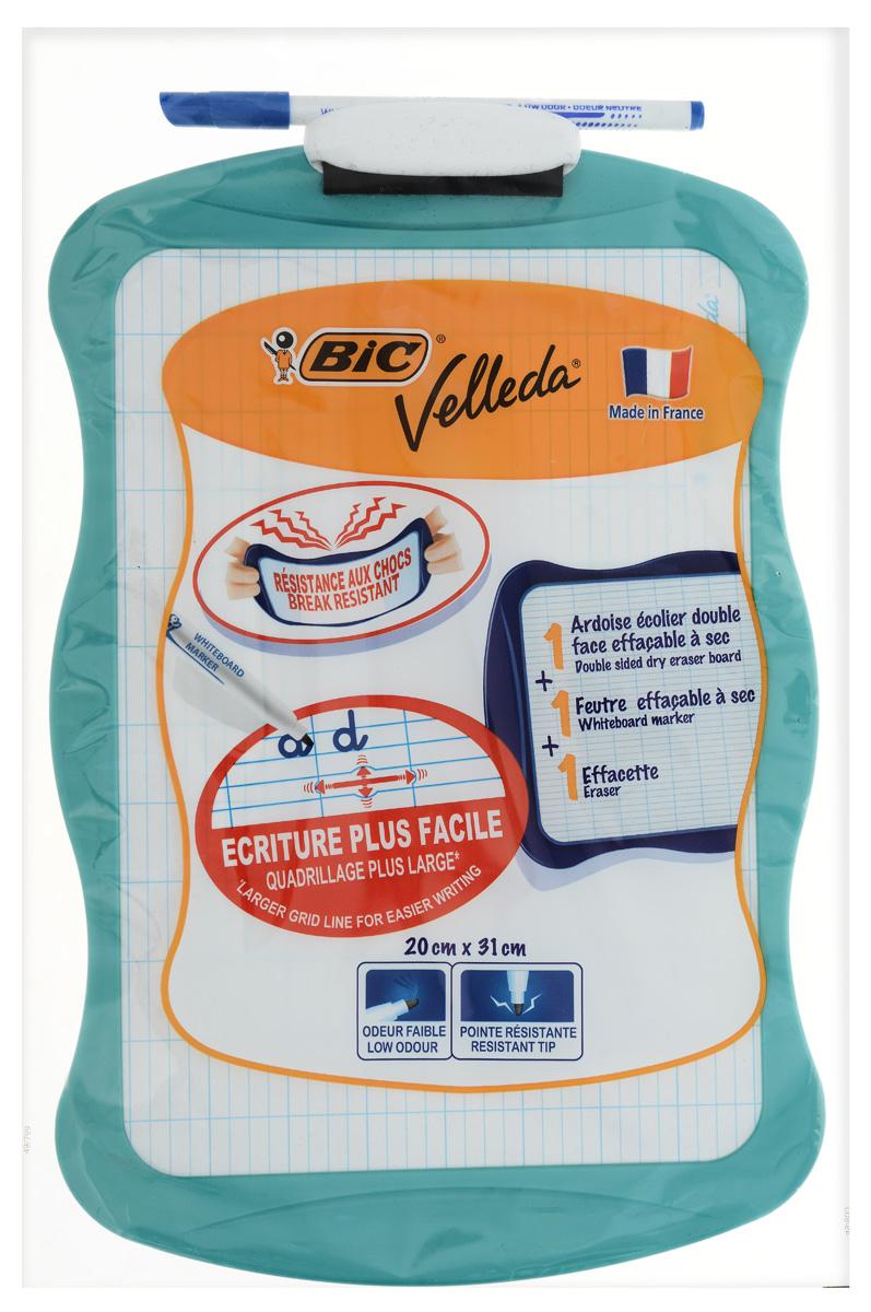 Доска для рисования Bic Velleda, цвет: бирюзовый bic bic france bic j5